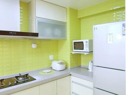 2017厨房铝扣板吊顶3D贴图 房天下装修效果图