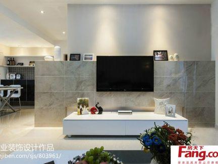 瓷砖电视背景墙装修效果图大全