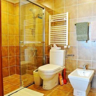 东南亚风格小户型卫生间卫浴玻璃移门