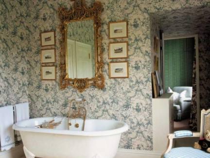浴室装饰壁纸图片