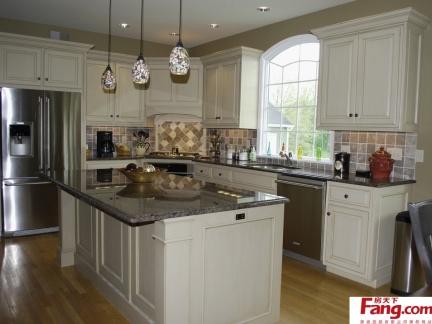 欧式开放式厨房吊柜图片图片