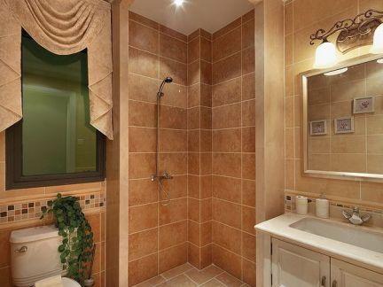 样板间设计卫生间效果图
