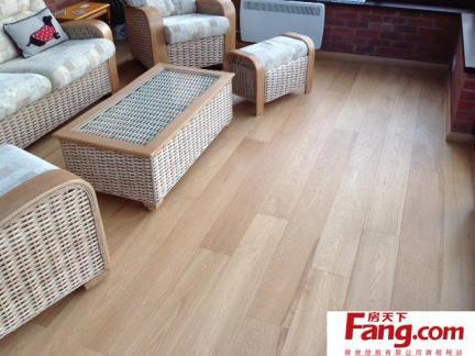 2017高清浅色木地板贴图-房天下装修效果图