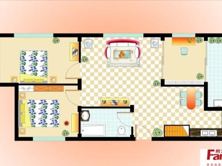 2017室内家具设计图 房天下装修效果图