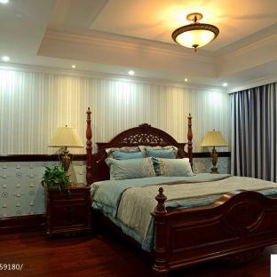 美式卧室吊顶装修效果图图片