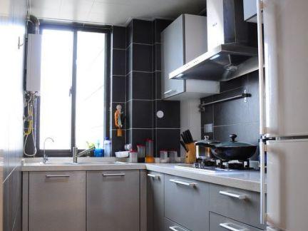 小户型厨房整体橱柜设计效果图图片