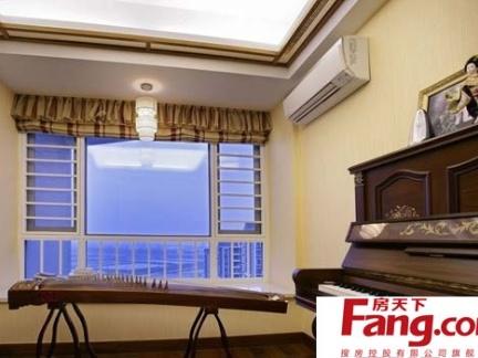 简约琴房吊顶效果图图片