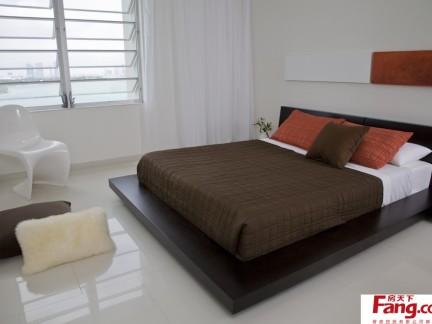 卧室榻榻米床设计图-2017榻榻米卧室床图片 房天下装修效果图