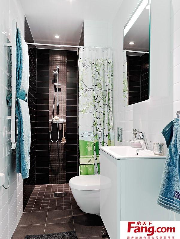 小面积卫生间装修效果图 2012厕所装修效果图