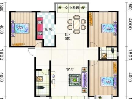 60平方房子设计图