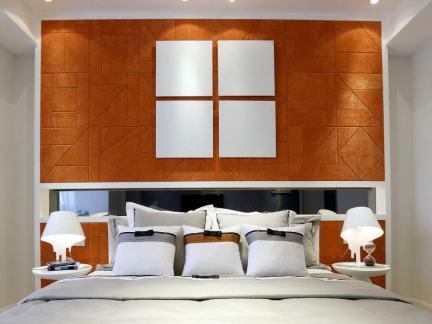 卧室背景墙装饰图片欣赏