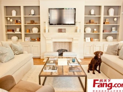 2017 - Ivory painted living room furniture ...