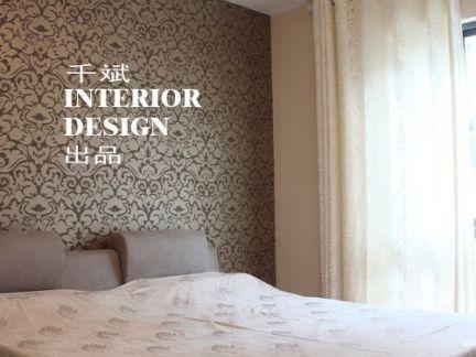 卧室床头壁纸背景墙效果图片大全