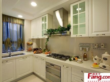 2018欧式厨房装饰效果图-房天下装修效果图图片
