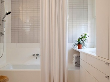 窗帘卫生间隔断豪华隔断窗帘效果图图片14