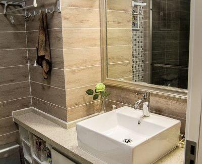 简约卫生间洗脸盆柜组合图片