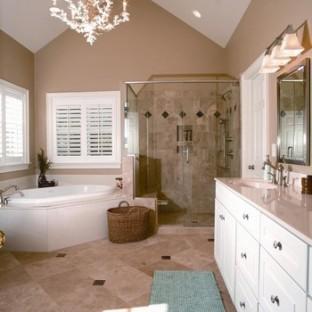 卫生间浴缸装修效果图