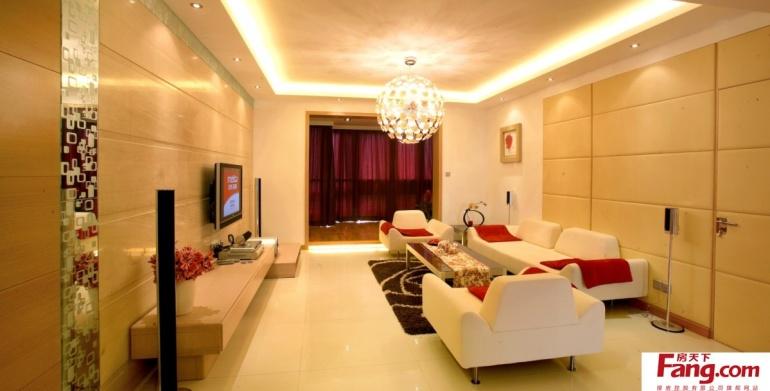 120平米房屋客厅装修设计效果图