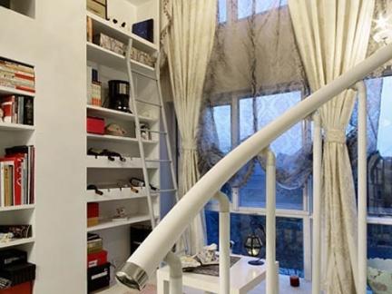 现代简约客厅日式榻榻米装修效果图