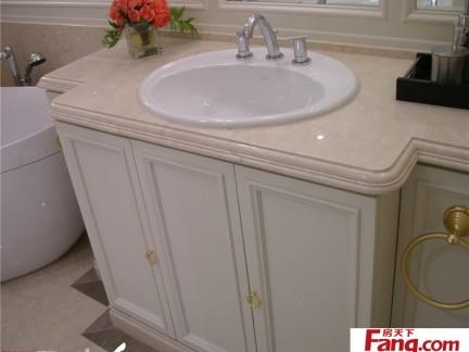 欧式卫生间洗脸盆柜组合图片