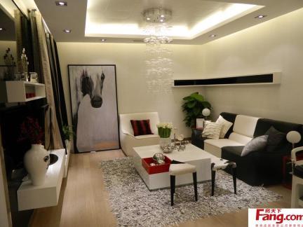 60平米房子装修样板房 装修 效果图高清图片