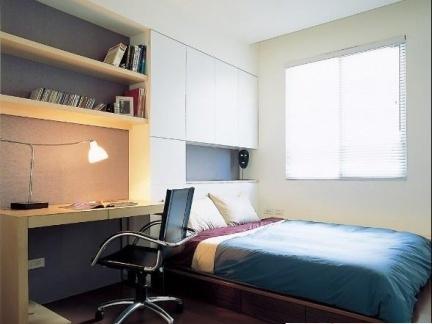 小空间卧室榻榻米床装修效果图