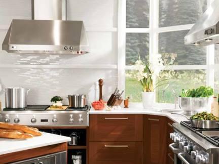 2017厨房家具欧式油烟机装修效果图-房天下装修效果图图片