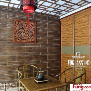 中式风格茶室装修效果图图片