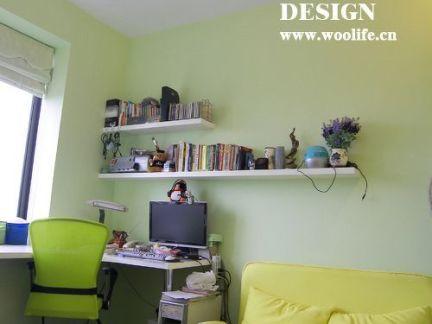 2017墙面书架装修效果图 房天下装修效果图