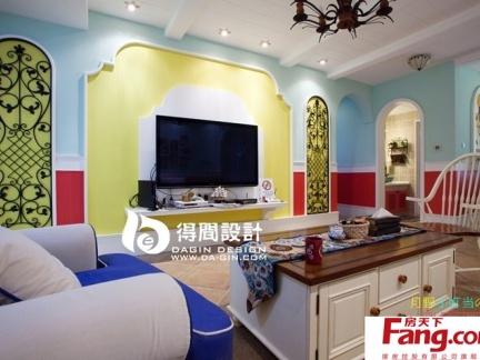 2013最新流行电视背景墙