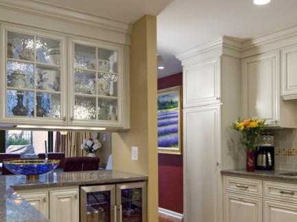 厨房酒柜隔断设计效果图图片