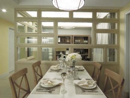 现代风格餐厅吊灯样板房设计