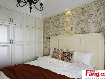 简欧卧室壁柜装修效果图