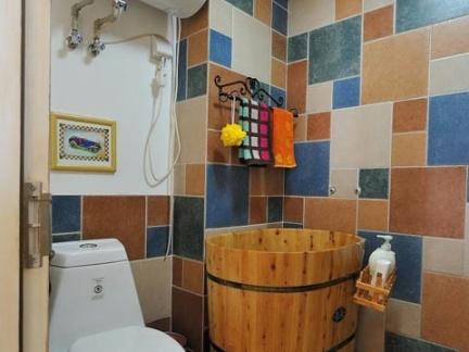 卫生间瓷砖颜色搭配效果图