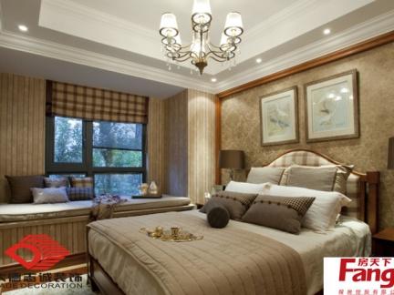 12平米卧室飘窗装修效果图