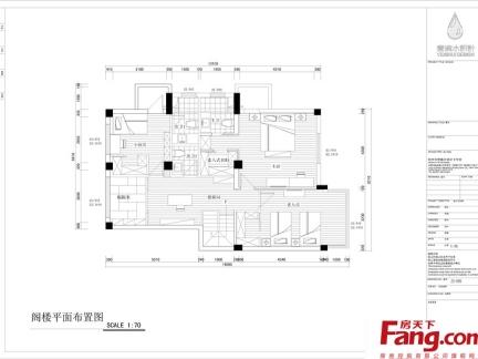 复式楼二楼平面设计图图片