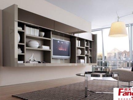 客厅组合柜设计效果图