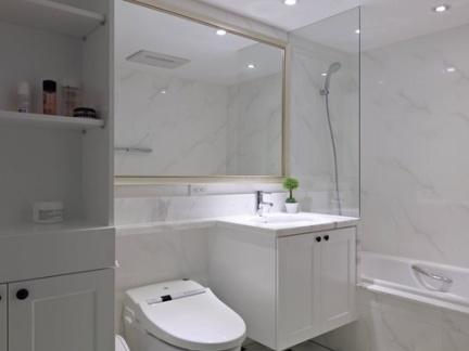 小面积卫生间厕所装修效果图 卫生间装修效果图欣赏