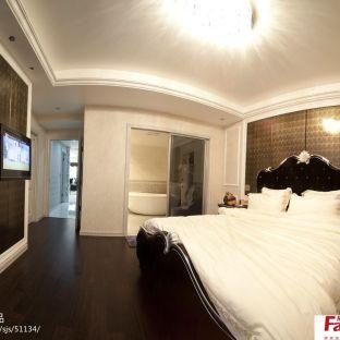 欧式主卧室带卫生间效果图图片