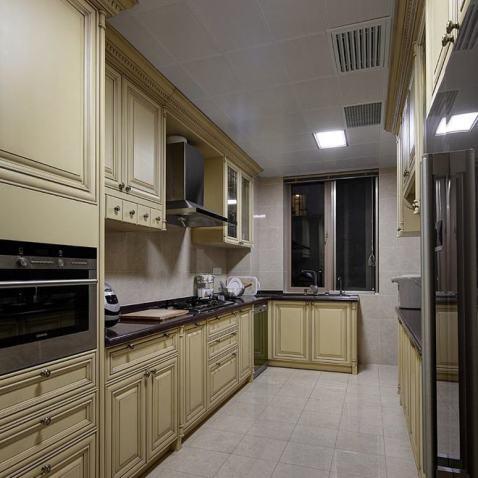 厨房欧式实木橱柜图片图片