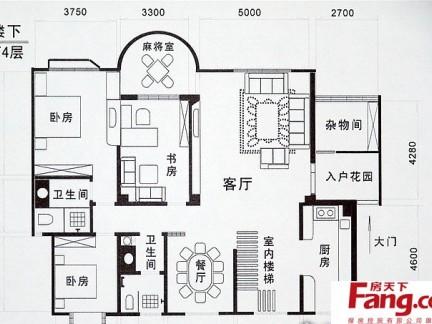 农村房屋平面设计图长16.图片