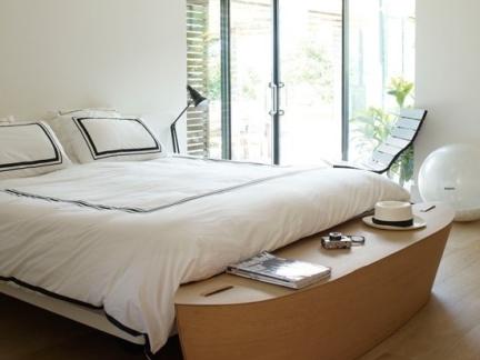70平小户型自然优雅的卧室飘窗装修效果图大全2014图片