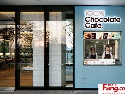 2017咖啡店门头装修 房天下装修效果图