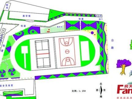 学校教学楼平面图