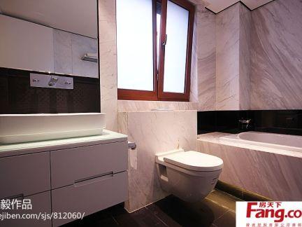 三居室卫生间洗脸盆柜组合图片