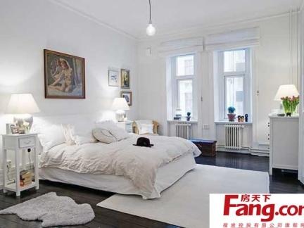简单的装修打造完美简约风格卧室装修图片