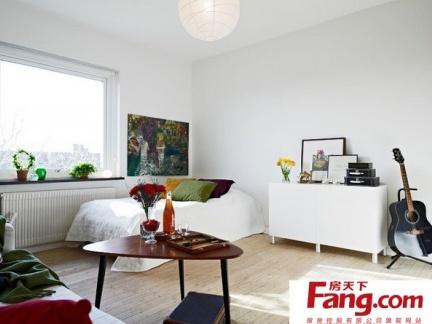 简单时尚靓丽的简约风格卧室装修效果图大全2014图片