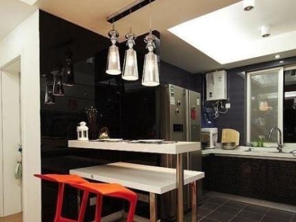 厨房吧台吊灯效果图欣赏