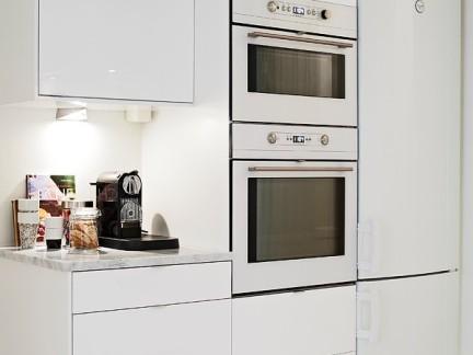 二室二厅整洁厨房橱柜装修效果图大全2012图片