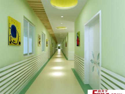 幼儿园走廊环境布置效果图